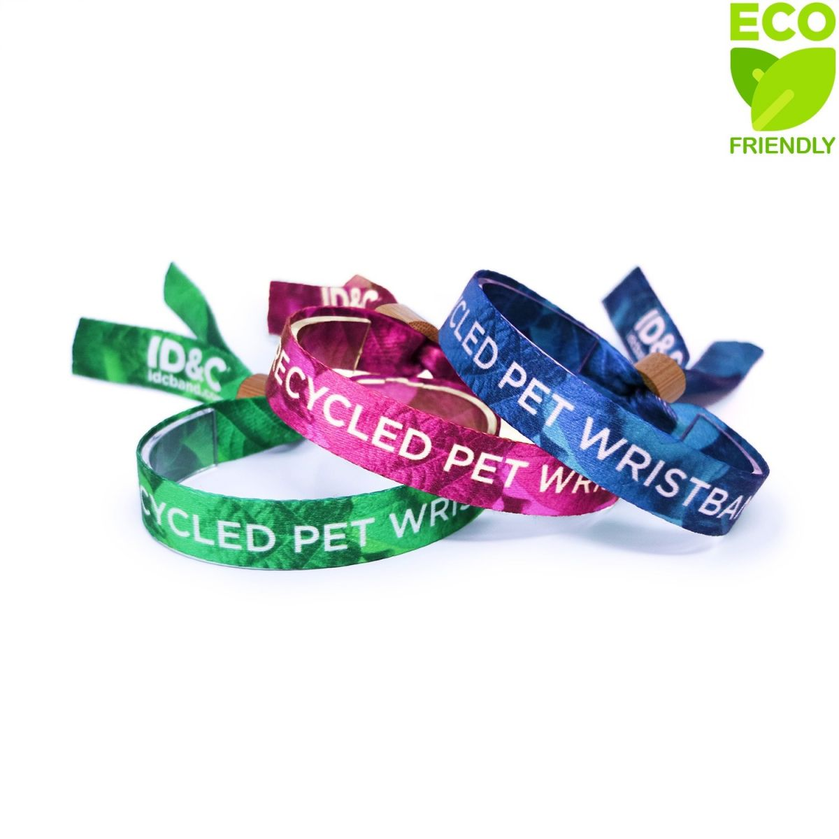 First Aid Fabric Wristband With Reflective Coating /& Matching Pin Badge
